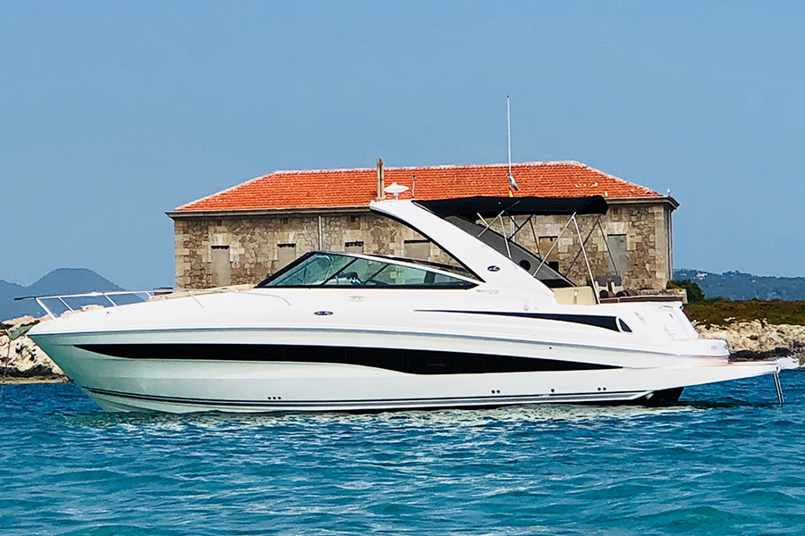 Rent Motorboat Sea Ray 370 Venture Ibiza